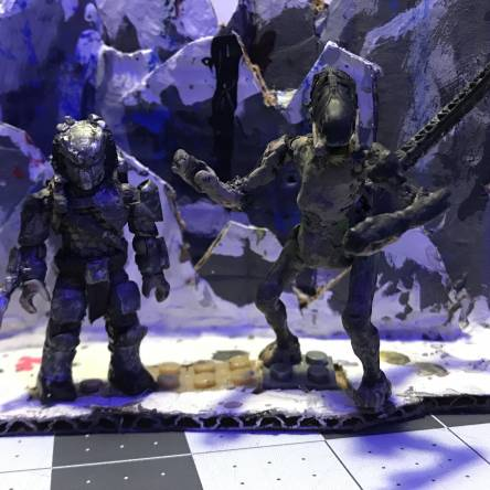Ultimate detail predalien and wolf pictures
