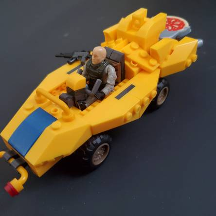 Pizza delivery Kart