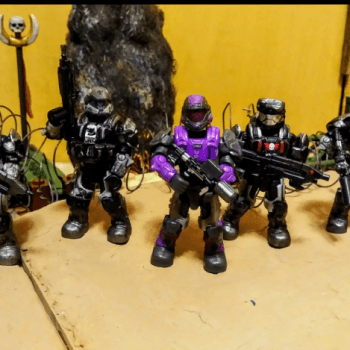 My ODST Marauders and wolf pack.