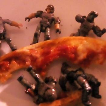 Attack of the pizzas.