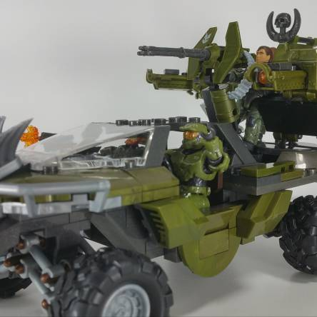 Warthog Rally Tusk Turret upgrade