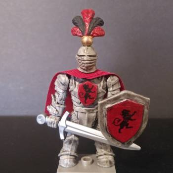 Mega Construx Game of Thrones House of Lannister Knight figure