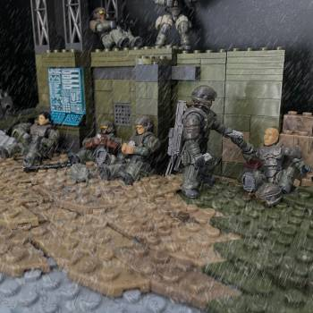 Left to Die diorama