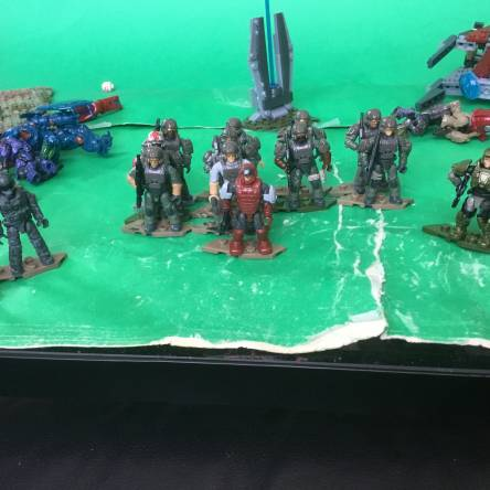 My current marine army (including customs)