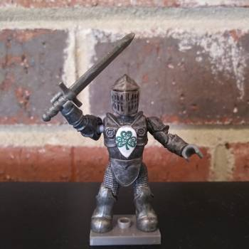 Mega Bloks Construx Luck Knight custom figure