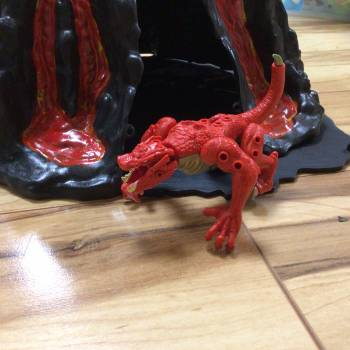 Stages of the lava dragon
