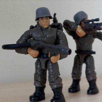 Custom WWII Chinese soldiers