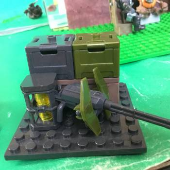 How to build a set piece with crates