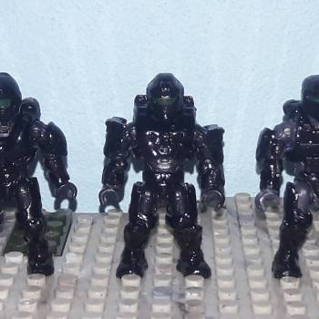 Star wars Rogue One Last 3 Death Troopers and Death Trooper leader (Color based figure)