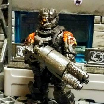My latest Deadspace fig Gabe wellers patrol Rig.