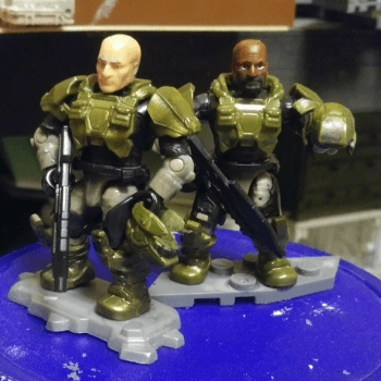 Halo 3 Marines the way they should be.
